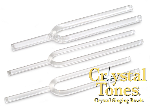 Clear Quartz Crystal  Tuning Fork 17